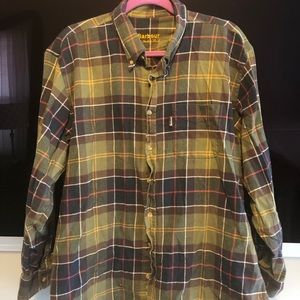 Other - Green flannel shirt